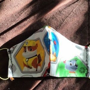 Childrens paw patrol face masks